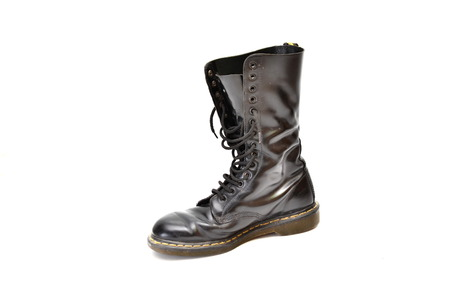 men s boot: An old and rugged men