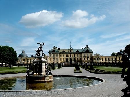 Drottningholm Slott Palace Grounds - Sweden Redakční