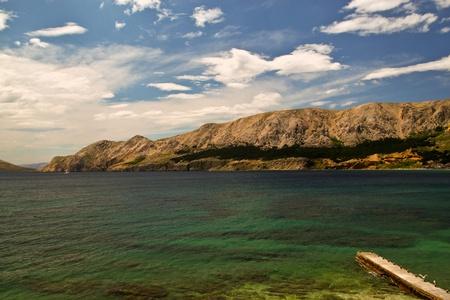 Beautiful sea landscape of Croatia