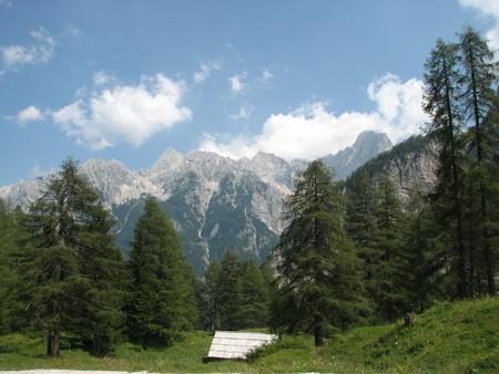 Slovenian alps scene