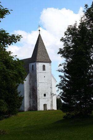 Church on Pohorje hill, Slovenia Stock Photo