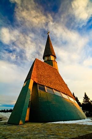 Great looking modern church