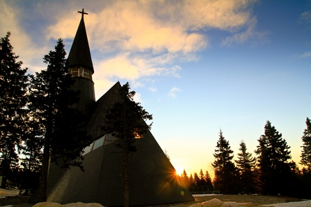 Church on Rogla, Slovenia