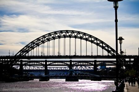 Newcastle bridge Stock Photo