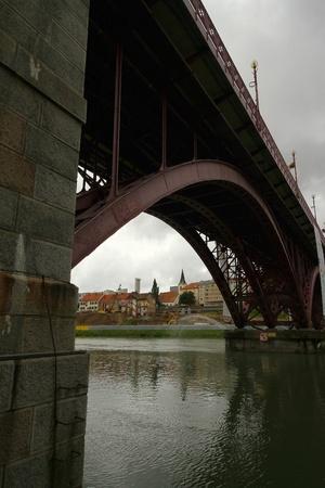 drava: Maribor bridge over Drava 3