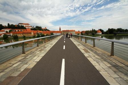 Long bridge to old town