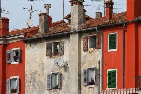 Old sea town windows