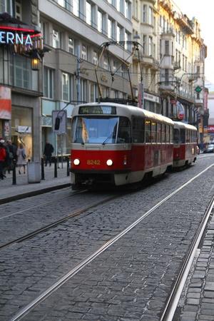Prague scenes Editorial