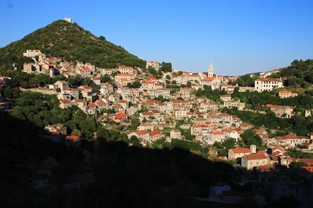 Lastovo city panorama