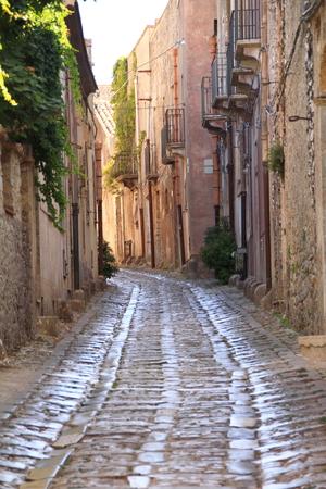 vulcano: Scenes of Sicily Stock Photo
