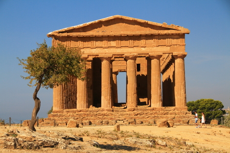 sicily: Scenes of Sicily Stock Photo