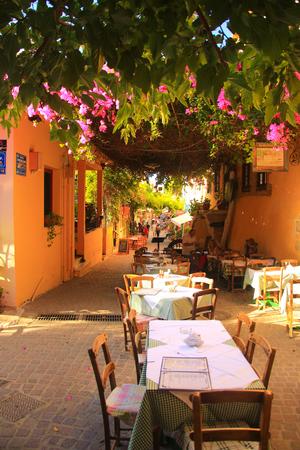 rethymno: Scenes of Crete Stock Photo