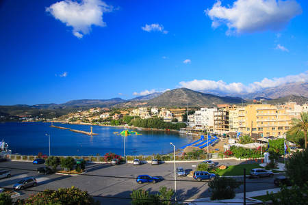 mediterrean: Scenes of Crete Stock Photo