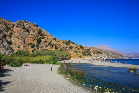 Scenes of Crete Editorial