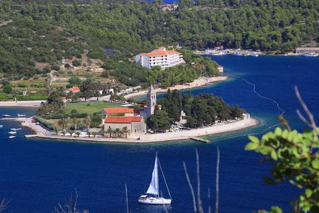 Scenes of Vis Island, Croatia Stock Photo