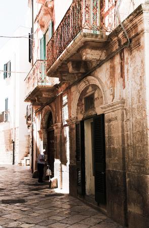 yegua: Escenas de Polignano a Mare