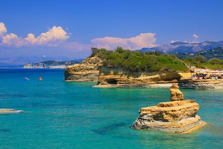 Scènes van Corfu