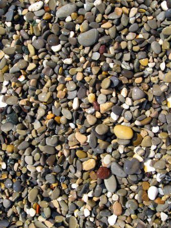 Wet pebbles seamless texture