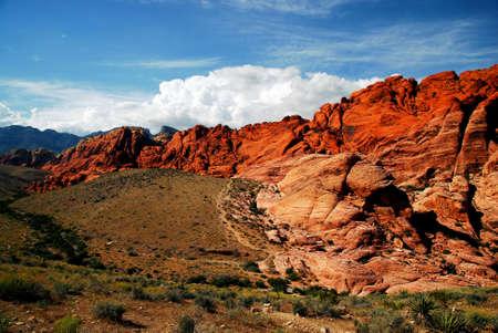 Uitzicht op Red Rock Canyon Stockfoto - 21856396