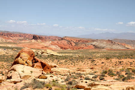 Views from the Valley of Fire in Nevada photo