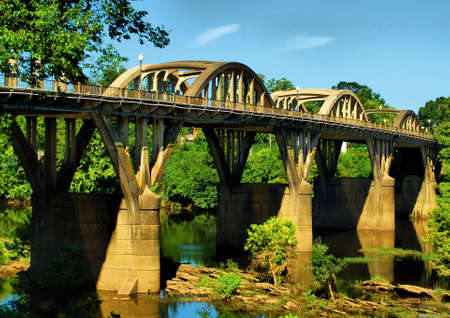 Crossing the Coosa photo