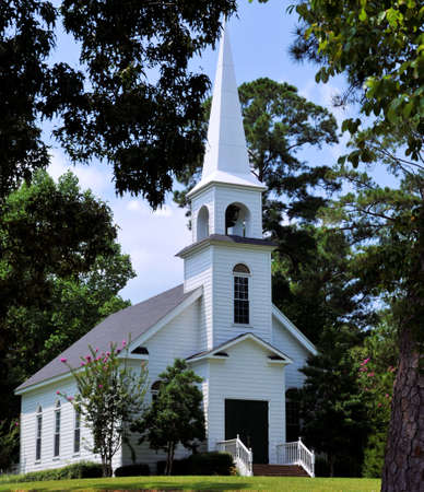 country landscape: Church in the Pines
