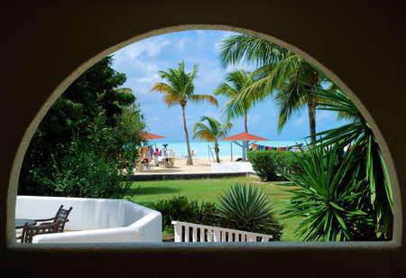 Caribbean through the Window photo