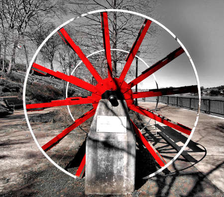 paddle wheel: Paddle Wheel in Augusta, Georgia