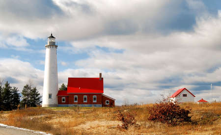 Tawas Point Lighthouse in Michigan photo