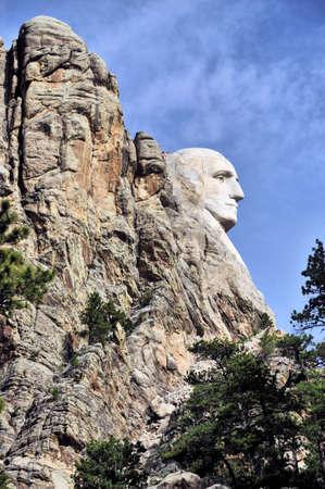 mt rushmore: Mt Rushmore in the Black Hills of South Dakota