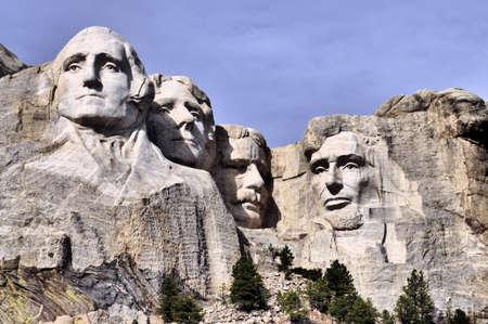 mount jefferson: Mt Rushmore in the Black Hills of South Dakota