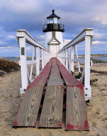 shortest: Brant Point Lighthouse on Nantucket Island, Massachusetts