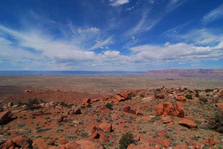 near: Rock formations near Marble Canyon Arizona