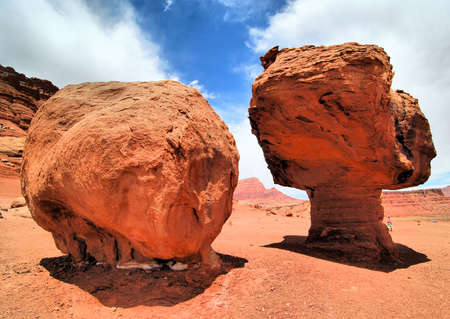 near: Rock formations near Marble Canyon Arizona