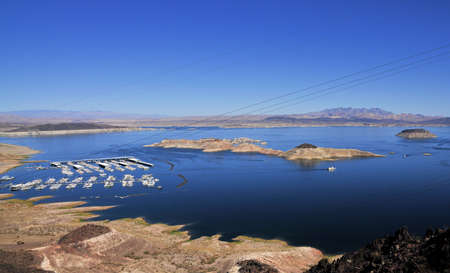 Views of Lake Mead in Nevada