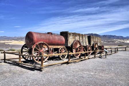 borax: Old Borax wagon in Death Valley California