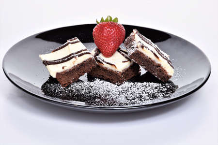 Delicious and Sweet  Desserts, cookies, cakes and chocolate Stok Fotoğraf
