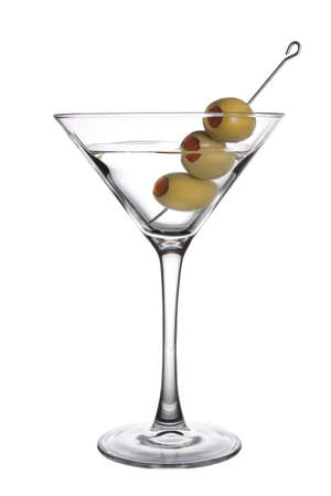 martini: Three Olive Martini