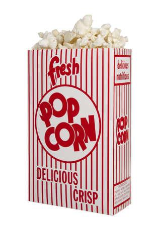 Fresh Box of Popcorn Фото со стока