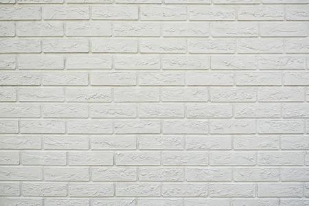 A white brick wall brick wall texture