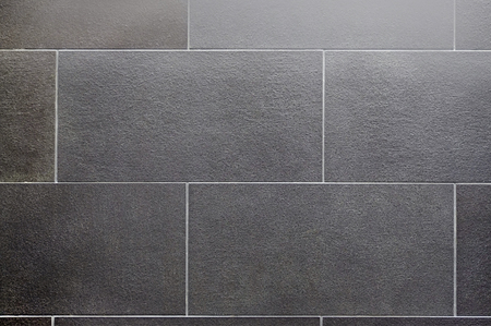 ceramic tile, seamless texture square dark gray