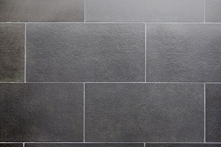 mattonelle di ceramica, grigio scuro quadrato senza cuciture