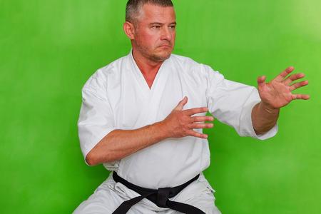 Direction karate KUDO. Azuma Takashi, the Creator of the style