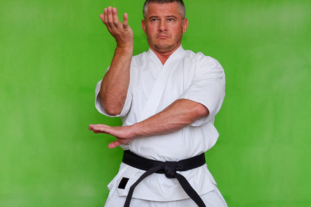 The sportsman in a kimono. The practice of karate KUDO. Azuma Takashi, the Creator of the style.