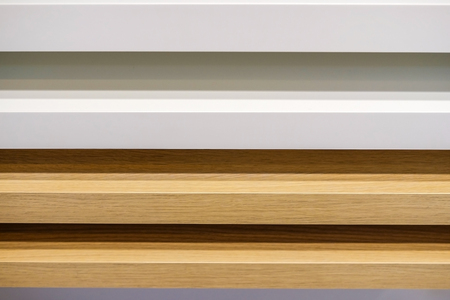 Wooden samples of different types of material.