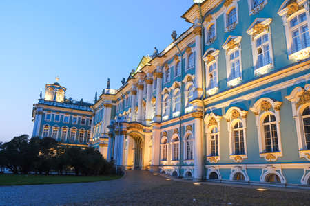 The Hermitage is an architectural monument in Saint Petersburg. Russia. October 17 2020
