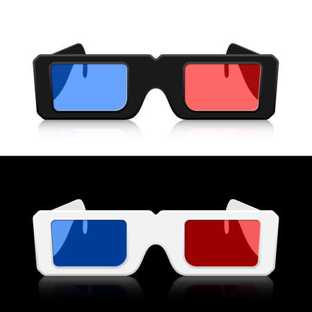 3D glasses: Vector 3D Glasses