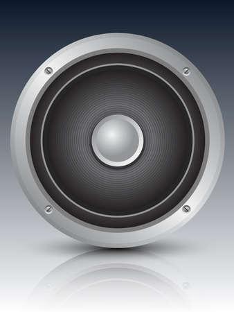speaker icon: Audio speaker icon, illustration
