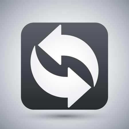 refresh icon: Refresh icon, vector