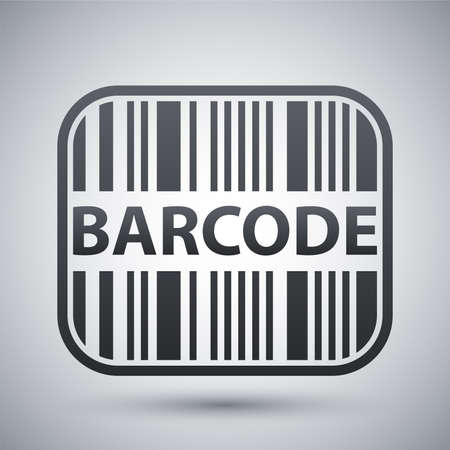 barcode scan: Vector barcode icon Illustration